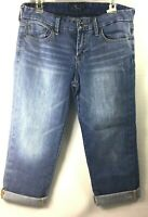 Lucky Brand Womens Size 8 / 29 Capri Short Crop Jeans  Light Wash  J
