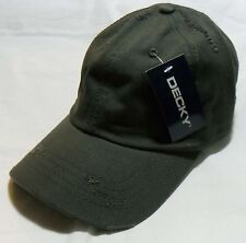 Olive Vintage Distressed Retro Polo Low Profile Baseball Cap Golf Hat Hats Caps