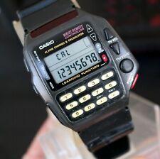 Vintage CASIO Remote TV Control LCD Calculator watch CMD-40 Controller Writst
