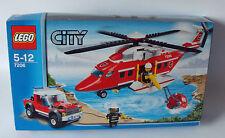 Lego® City 7206 - Feuerwehr Helikopter 342 Teile 5-12 Jahren - Neu