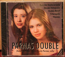SHEFFIELD Lab CD SL10082: PARNAS DOUBLE - Duos for Violin & Cello - 2008 SEALED