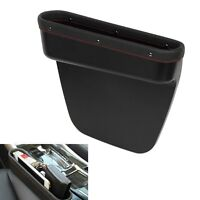 Leather - Crevice Storage Box For Card Phone New Design ! Car Seat Gap Pocket