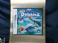 Petz Wild Animals Dolphinz [Nintendo DS GAME+BOX+MANUAL Pets Dolphins Flipper US