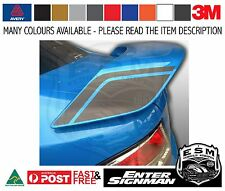 ESM FG WING END DECALS to fit FG GT FORD FALCON - Avery Supreme Wrap Vinyl