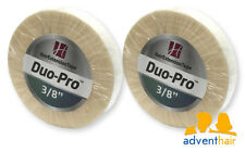 """Duo-Pro Hair Extension Tape Roll 3/8"""" x 6 yds WALKER weft extensions - 2 rolls"""