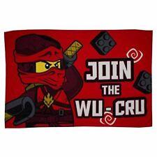 Lego Ninjago Warrior Fleece Blanket Bed Throw Matches Bedding