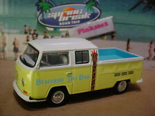 2018 SPRING BREAK 1968 VOLKSWAGEN TYPE 2 DOUBLE CAB✰ylw VW;TIKI✰loose GREENLIGHT