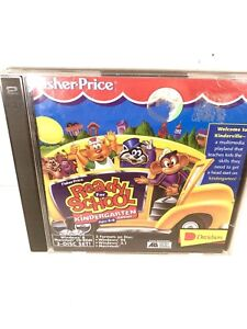Fisher Price Ready for School Kindergarten 4-6 (PC Windows/Mac 1996) Deluxe CD