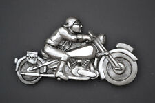 Gift Brough Superior  Vintage Motorbike and T.E. Lawrence (of Arabia) Wall art