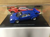 "DIE CAST "" LAMBORGHINI COUNTACH LP 400 S (1978) "" SCALA 1/43"