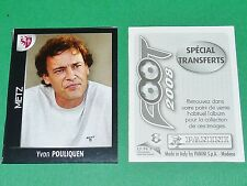 PANINI FOOT 2008 FRANCE FOOTBALL 2007-2008 POULIQUEN FC METZ SAINT-SYMPHORIEN