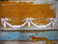 SHABBY & CHIC ROSE CENTER & SWAGS *FURNITURE APPLIQUES @ FREE SHIPPING