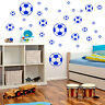 FOOTBALL wall art vinyl sticker room decal set of 30 in 4 different sizes