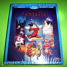FANTASIA CLASICO DISNEY NUMERO 3 - BLU-RAY + DVD NUEVO Y PRECINTADO