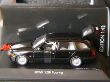 BMW 528I TOURING E39 1996 BLACK SCHUCO 04204 1/43 BREAK STATION WAGON SW NOIR