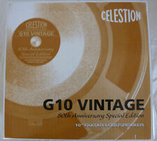 Celestion G10 Vintage 60 W 8 Ohm 80th anniversary special edition