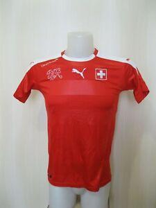 BOYS Switzerland 2016/2017/2018 Home Sz XL Puma Swiss shirt jersey football