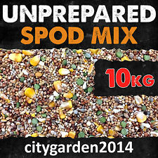 10kg Unprepared Spod / Particle Mix Containing Hemp, Maize & Mixed Seeds