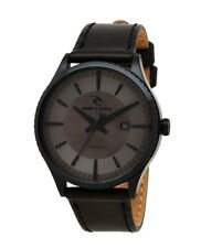 RIP CURL mens AGENT Midnight Leather SSS Surf Watch rrp$250 Brand New