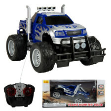 Blue High Speed Remote Control Racing Car Kids Toy Monster Truck Model Boy Gift