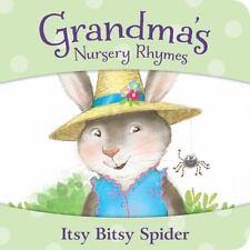 Itsy Bitsy Spider (Grandma's Nursery Rhymes)-ExLibrary