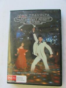 DVD - Saturday Night Fever - John Travolta - The Quintessential Disco Movie