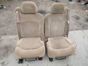 2003 2004 2005 2006 CHEVY / GMC TRUCK SUV TAN / BROWN MANUAL SEATS