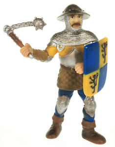 Schleich World of Knights Sledge FOOT SOLDIER Lion Coat of Arms Figurine 70002