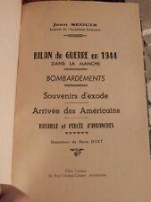 Seguin, Jean Bilan de la guerre 1944 dans la Manche seconde guerre mondiale
