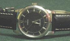 Omega Seamaster automatic 20j SS cal. 501 black dial vintage SHARP!