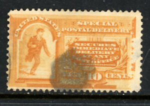 SCOTT E3 1893 10 CENT SPECIAL DELIVERY ISSUE USED VG CAT $12!