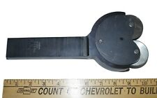 """New listing Self-Centering Knurling Tool with 2"""" x 1/2"""" Wheels, 5-3/4"""" x 1-1/2"""" x 34"""" Shank"""