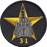 No. 31 Squadron Royal Air Force RAF Panavia Tornado Goldstar Embroidered Patch