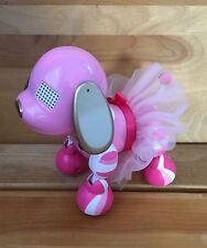 Zoomer Zuppie Candy Tutu Skirt Interactive Robotic Puppy Dog Pink Lights & Sound