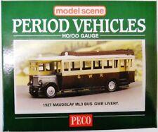 MODEL SCENE OO/HO ACCESSORIES GWR MAUDSLEY BUS MS5137
