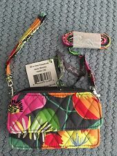 Vera Bradley All In One Crossbody Jazzy Blooms NWT Free Shipping