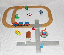 GeoTrax LOT Push Train Car Helicopter Gas Truck Tree Signs