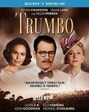 Trumbo (Blu-ray Disc, 2016, Includes Digital Copy UltraViolet) FACTORY SEALED