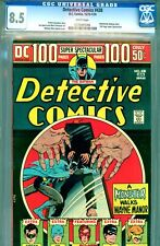 Detective Comics #438 CGC GRADED 8.5 - white pages - Kaluta cover