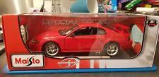 Maisto 1:18 Ford Mustang SVT Cobra Diecast Model Car Very Rare!!