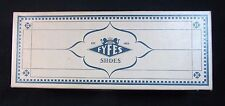 Vintage 1955 Fyfes Shoe Box Only - R.H. Fyfe & Co. Shoe Box Detroit Michigan