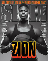 SLAM Magazine 228 September October 2020 NBA Restart - Zion Williamson Cover
