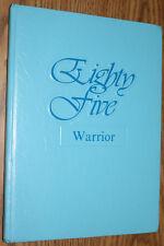 YEARBOOK - Walton Middle School FL - 1985 Warrior DeFuniak Springs Florida