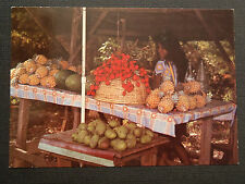 CPM LA REUNION MARCHANDE DE FRUITS
