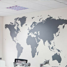 Wandtattoo Weltkarte Detaill World Map Premium Wandaufkleber Original