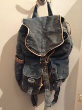 Large Denim Rucksack Topshop Excellent Condition
