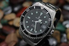 Vintage SANDOZ Automatic 25j 100M Stainless Steel Diver's Watch Ref. 3930