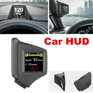 Head Up Display Projector Car Truck Speedometer Universal GPS HUD Projector OBD