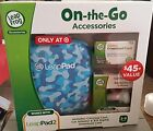 Leapfrog Leappad Accessories On-the-go Bundle. Blue Carrying Case, Car Adapter &