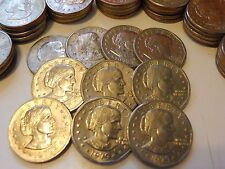 Lot of 20 Susan B Anthony Silver Dollars All 1979-S. SBA $1 Coin Hoard!